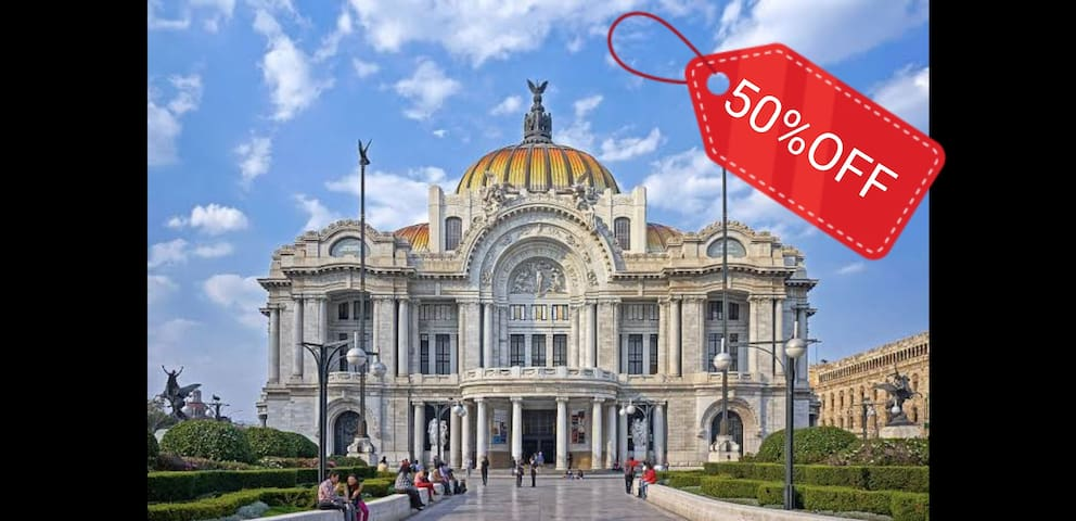 ⭐ BOUTIQUE APT BELLAS ARTES/HISTORIC CENTER/50%OFF