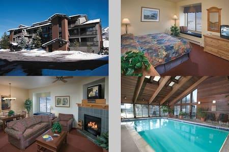 1 Bed Wyndham Steamboat Springs - สตีมโบท สปริงส์ - อพาร์ทเมนท์