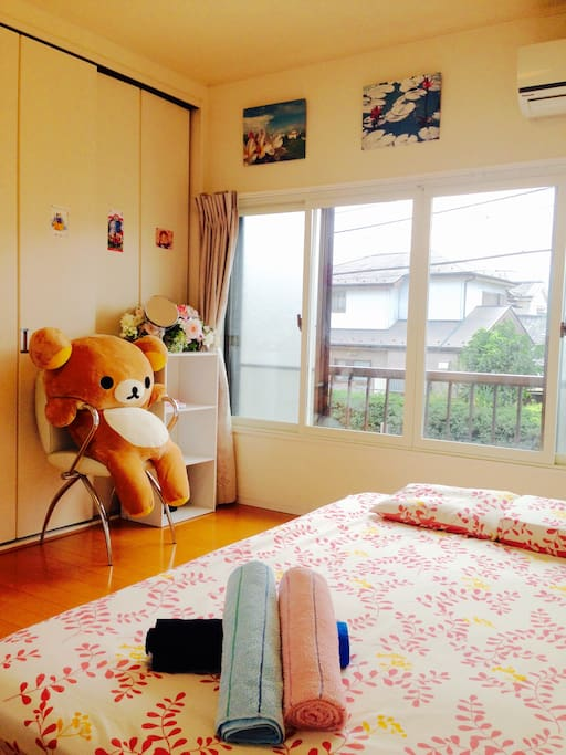 Private room①Double room (2nd floor) ※you can choose here or another private room. ※Here is for 2〜4 people room.