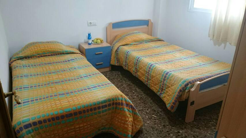 HABITACIÓNES CON BAÑO PRIVADO - Castelló de la Plana - Apartment