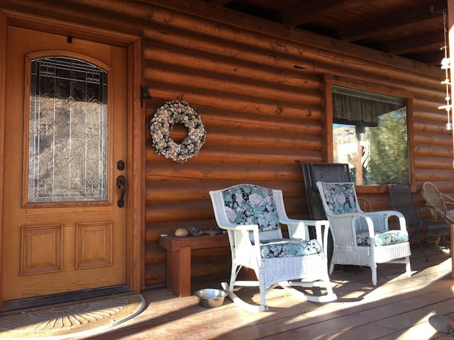 Front Porch and Guest entrance