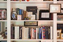 A library collection for the avid reader