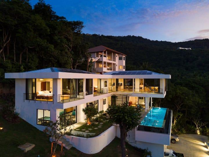 Villa Tosti Luxury Seaview Pool Vacation Rental