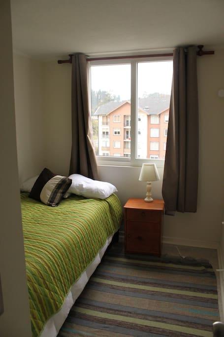 segundo dormitorio con cama nido