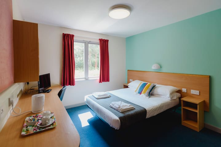 Glasney Standard Double Room on Penryn Campus
