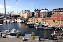 Djurgården in the turist center