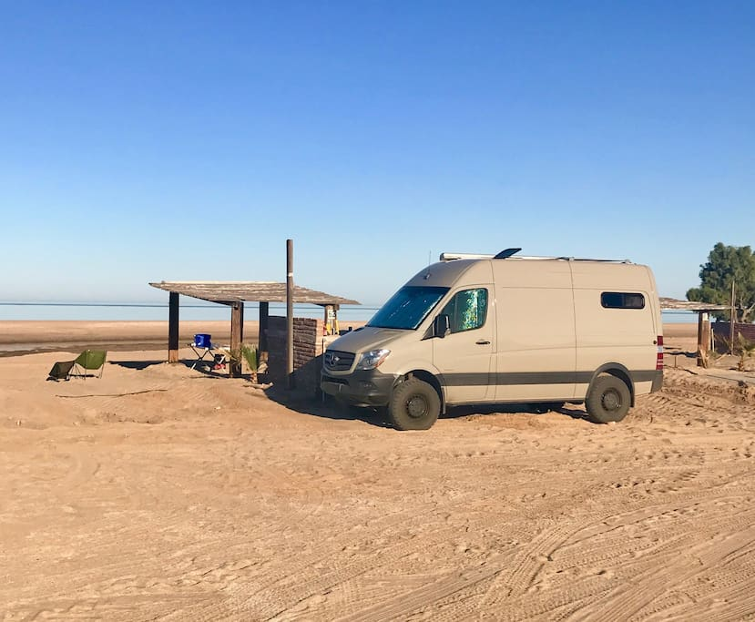 Beach parking for ALL vehicle types
