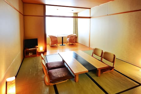 Oboke Onsen Japanese style room Wi-Fi Shuttle Bus