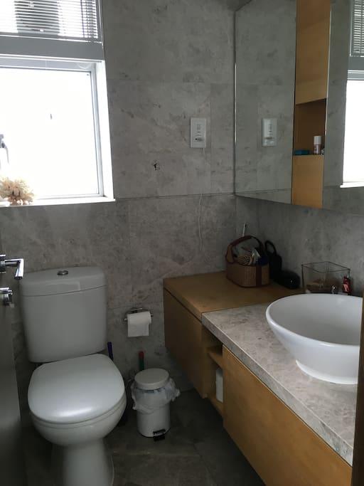 Master Room Ensuite Bath plus shower
