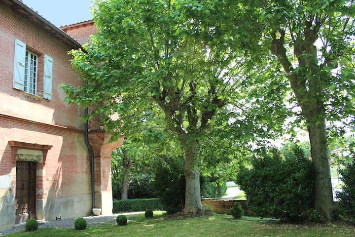Une chambre dans maison du XVIIème - Sainte-Foy-d'Aigrefeuille - House