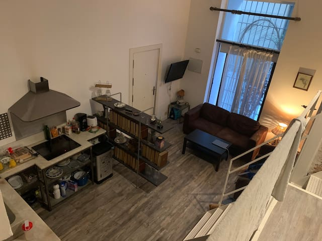 Big apartment in Madrid center