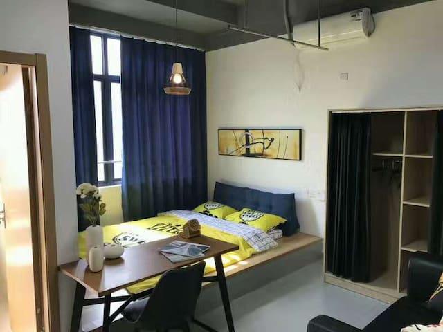 西溪湿地、西溪印象城旁,精装设计公寓 - Hangzhou - Byt se službami (podobně jako v hotelu)