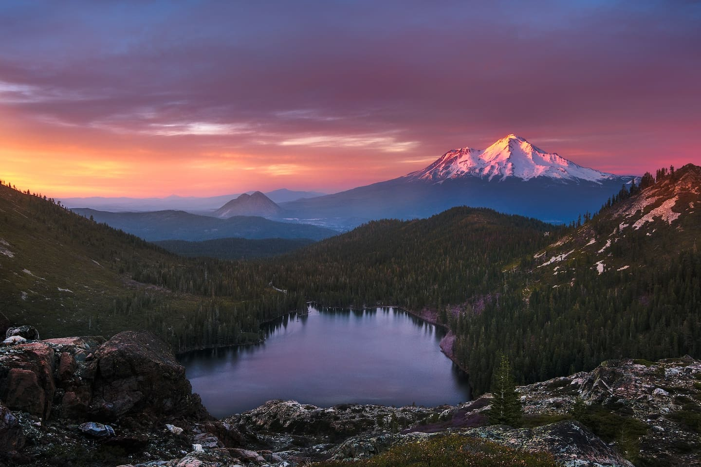 Mount Shasta Awaits.....