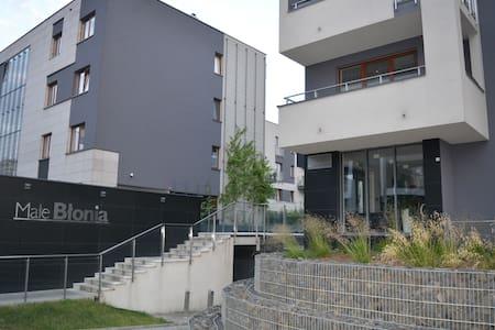 Małe Błonia Apartment/ 4 person, private parking