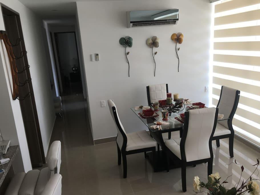 Dinning and Hall