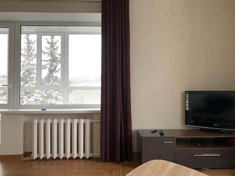Апартаменты с панорамным видом на горы и центр