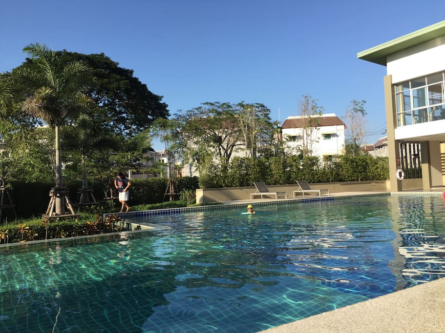 Outdoor Swimming Pool of the condo