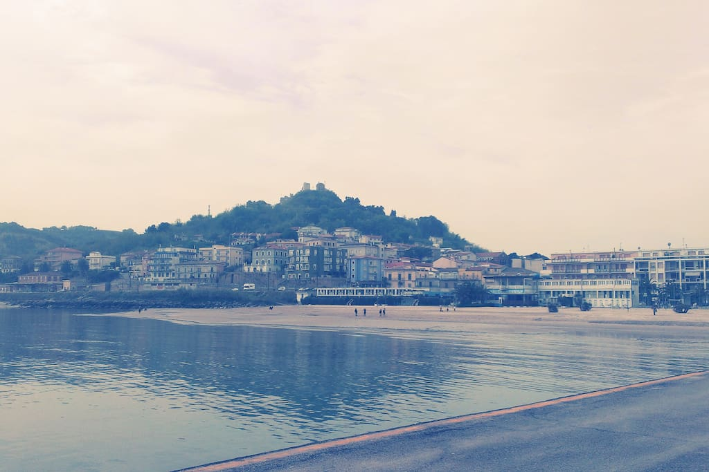 San Vito Marina and upper town