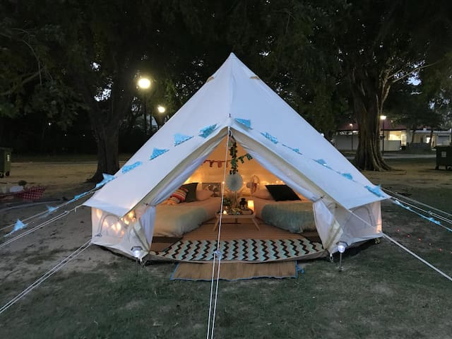glamping kaki singapore-Standard medium bell ten