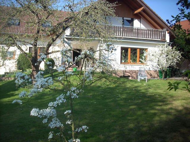 Ferienwohnung:Hochelheim/Wetzlar/Lahntal/Messe Ffm - Hüttenberg - Квартира