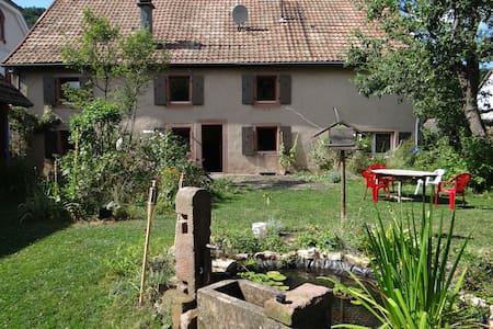 chambre entre montagne et vignoble - House