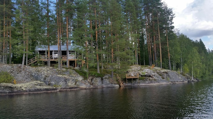 Preacher´s Rock Wildnishütte/Sauna/Ruderboot
