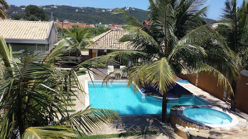 Casa de férias com piscina - Bombinhas