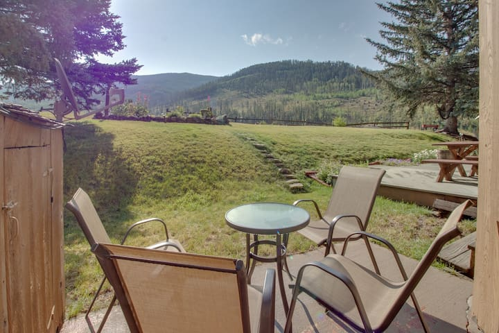 Mountain view condo with easy access to Vail Ski Resort