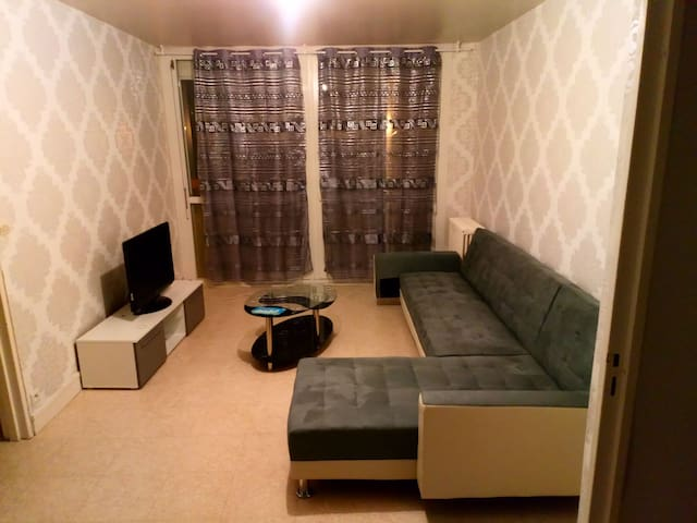 Appartement calme propre et spacieux.
