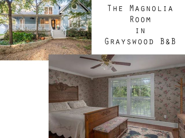 Magnolia Room in Grayswood B & B