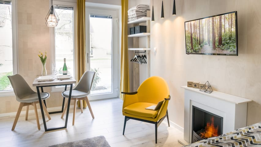 Luxury Studio 24 Art Apartment