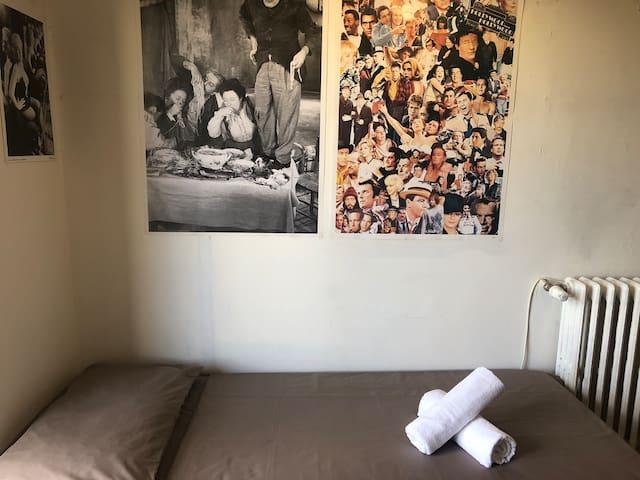 Triple shared room near Tiburtina