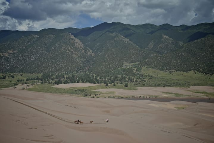 Hike in the Sangre de Cristo mountain range.