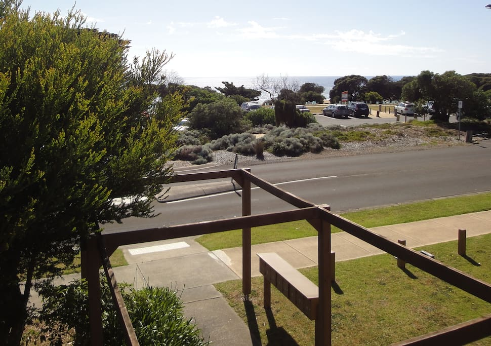 BEACHFRONT VIEWS. The beach is literally over the road. Walk to a choice of Torquay's fantastic front or back beach.