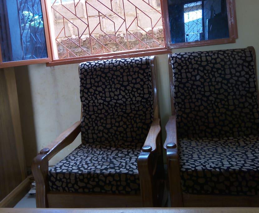 Chaises rembourées