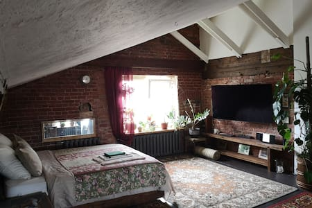 Мансарда старого особняка