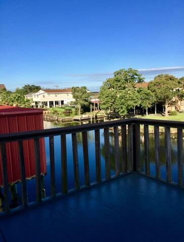 Waterfront villa home