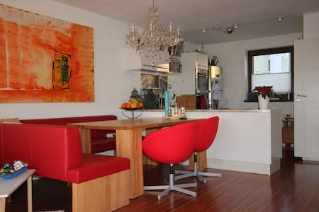 Very nice rooms with garden for up to 3 guests