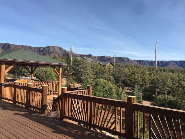 NEW Treehouse Cabin 360 VIEWS /Bonita Creek Payson