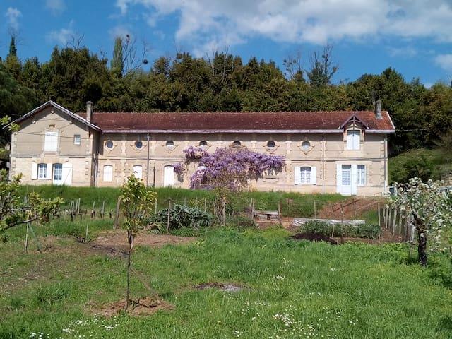 Gite de Croute - Bourg - บ้าน