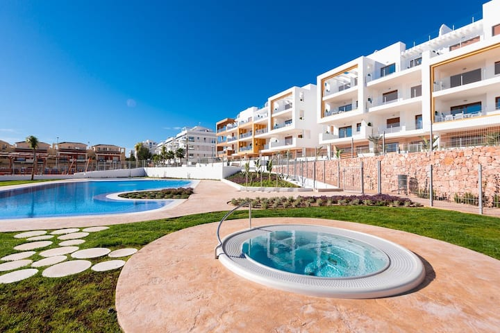 Appartement paradisiaque à Orihuela Costa avec piscine