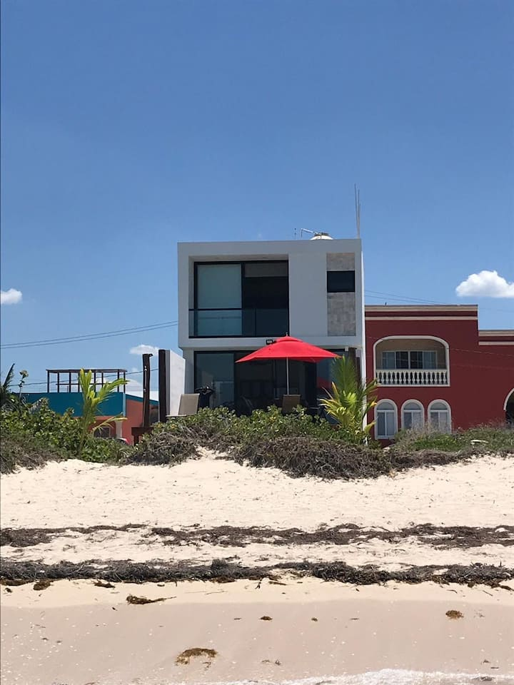 Sunset Villa at Telchac Beach