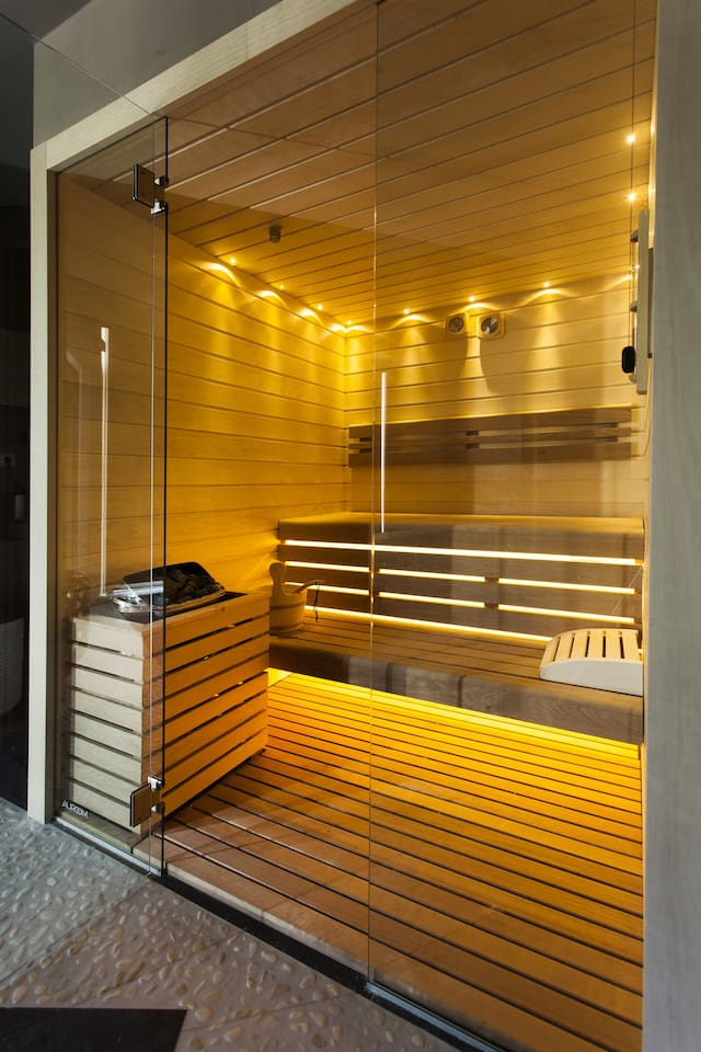 Sauna in the SPA, common area open from 15.00 until 20.00 every day