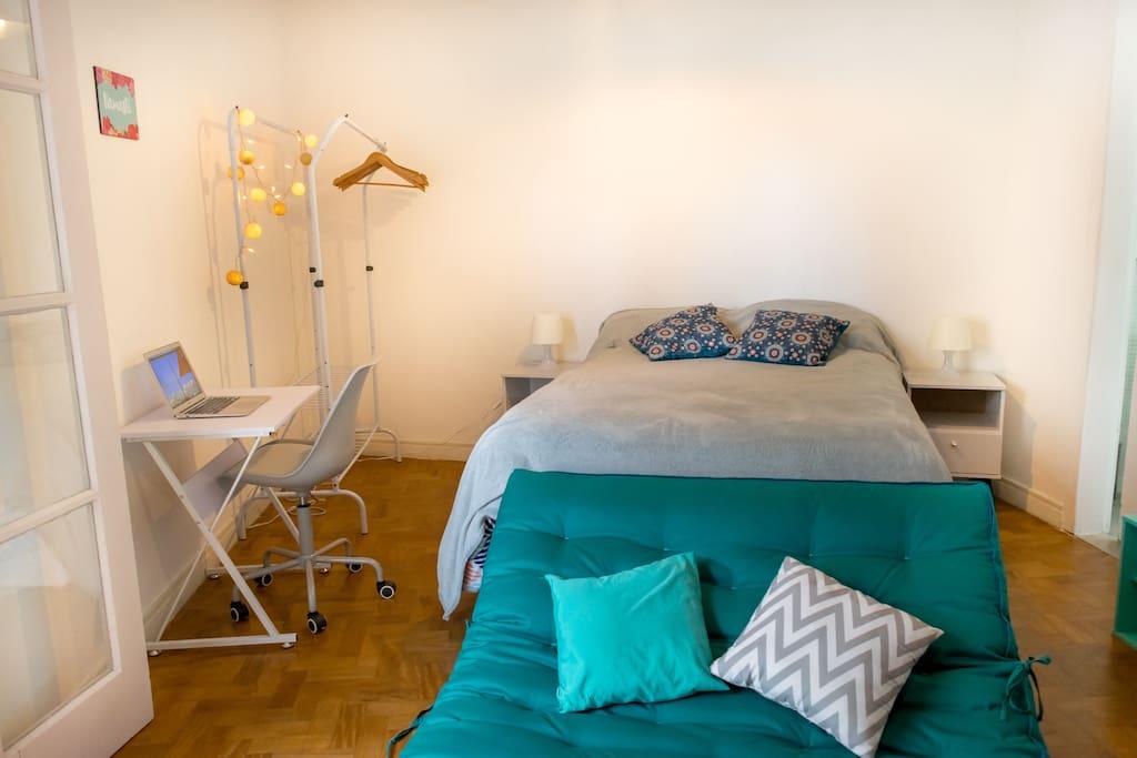 Sala/Quarto - Living/Bedroom