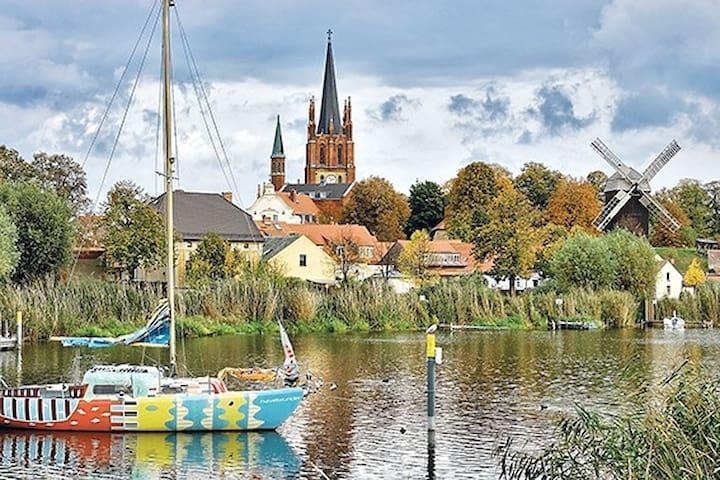 """Ferienwohnung """"Inselblüte"""" Klein aber fein - Werder (Havel) - Apartment"""