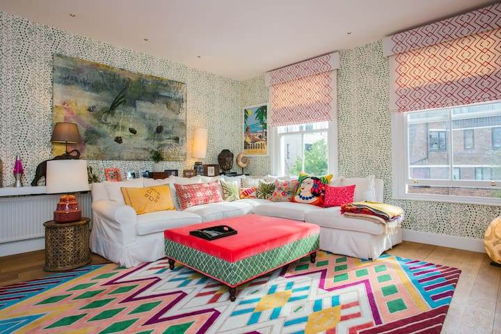 Beautiful 2 Bed House in Portobello w Rooftop