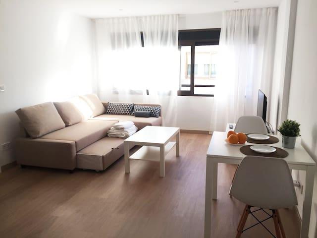 Apt/250_Luminous and cosy apartment in city center