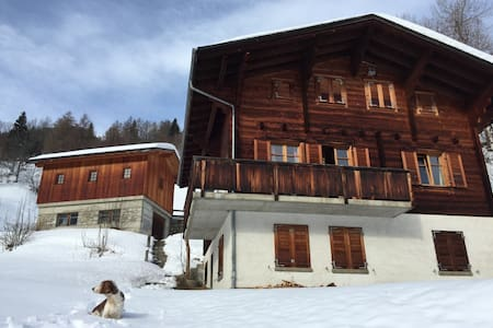 Chalet Karoline - Goms/Switserland - Grafschaft - Apartment