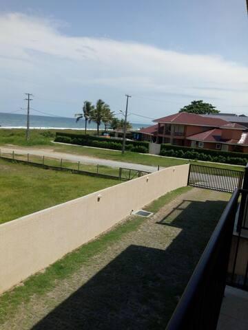 Apartamento de frente para o mar em Guaratuba