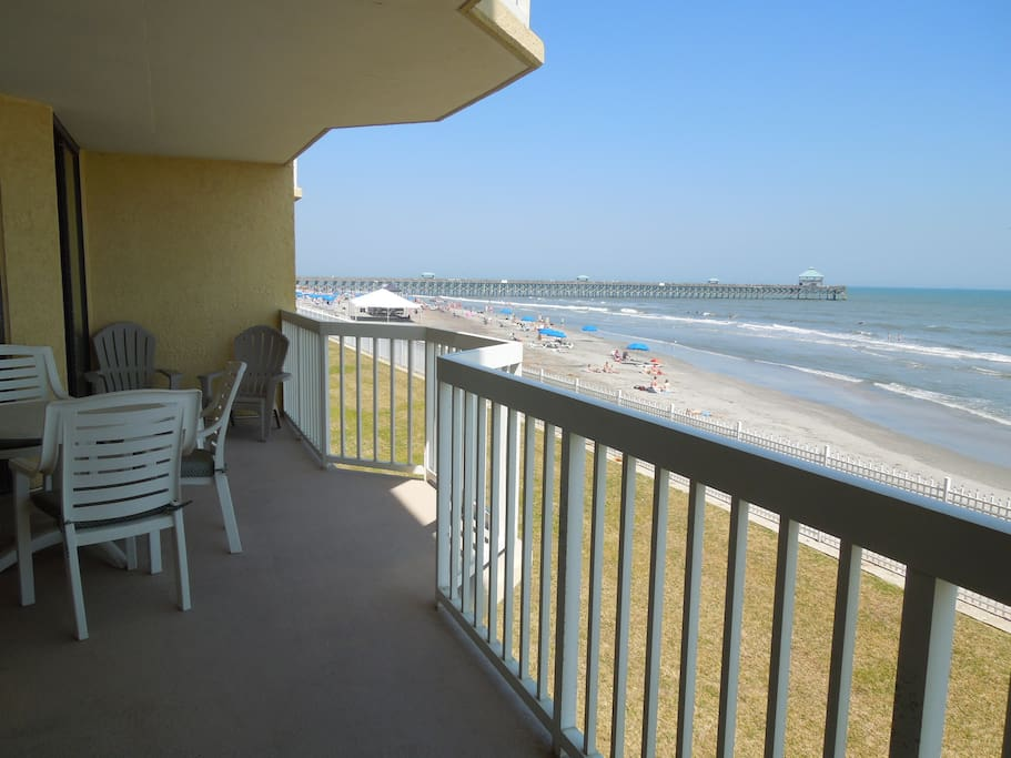 View of the Pier from the Porch